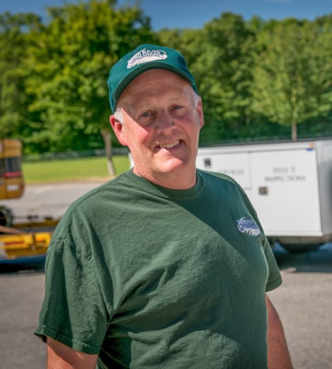 Wind River employee smiling
